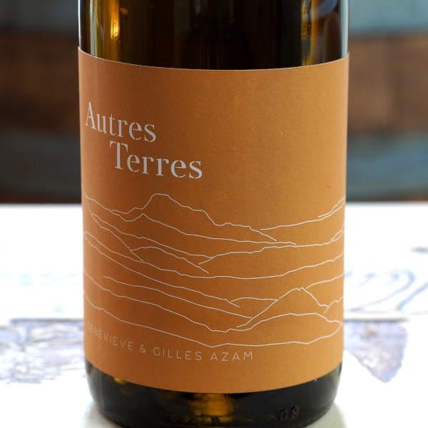 Domaine Les Hautes Terres Autres Terres blanc 2020 - front label close-up